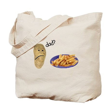 Potato French Fries Dad Tote Bag