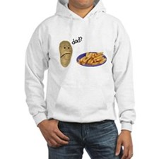 Potato French Fries Dad Hoodie
