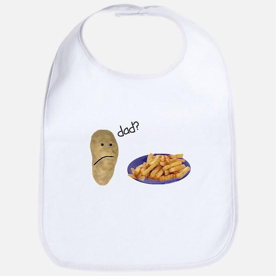 Potato French Fries Dad Bib