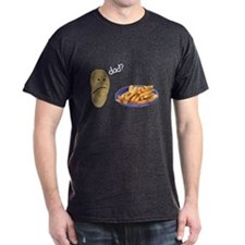 Potato French Fries Dad T-Shirt