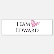 Team Edward Bumper Bumper Sticker