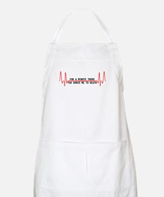 For a minute there you bored Apron
