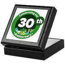30th Anniversary Celebration Gift Keepsake Box