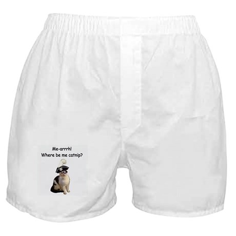 Pirate Cat Boxer Shorts