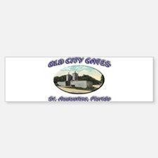Old City Gates Bumper Bumper Sticker