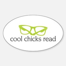 Cool Chicks Read Stickers