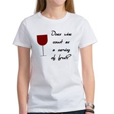 Does Wine Count As A Serving Of Fruit Tee