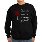Does Wine Count As A Serving Of Fruit Sweatshirt (