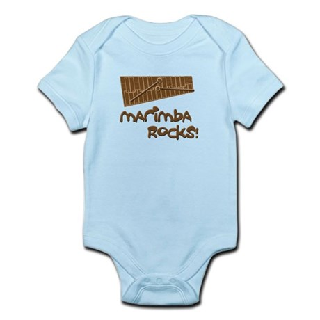 Marimba Rocks! Infant Bodysuit