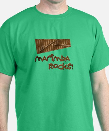 Marimba Rocks! T-Shirt