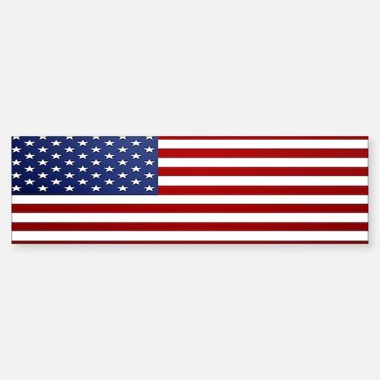 American Flag Sticker (Bumper)
