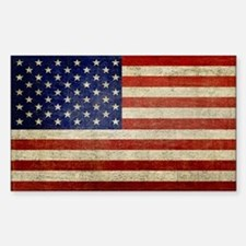 Distressed Flag v2 Decal