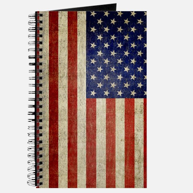 Distressed Flag v2 Journal