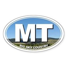 MT - Montana - Decal
