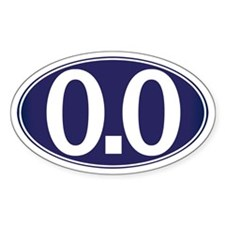 0.0 - Zero Point Zero Decal