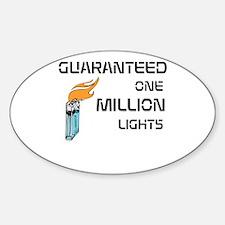Funny Fahrenheit 451 Sticker (Oval)