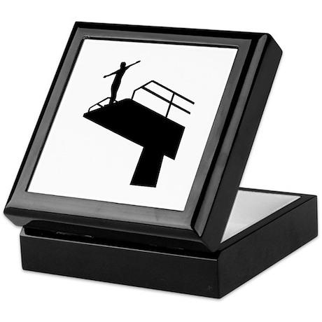 High diving Keepsake Box