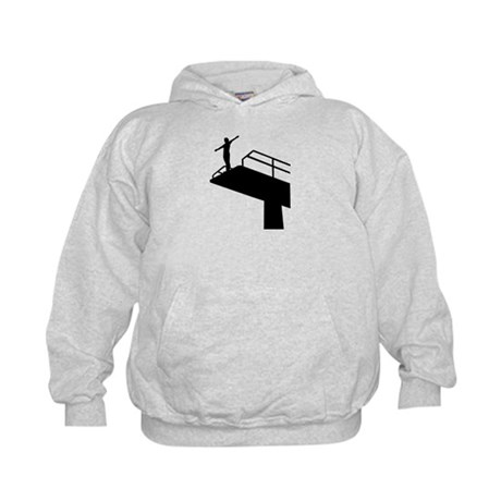 High diving Kids Hoodie