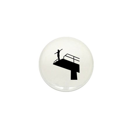 High diving Mini Button (10 pack)
