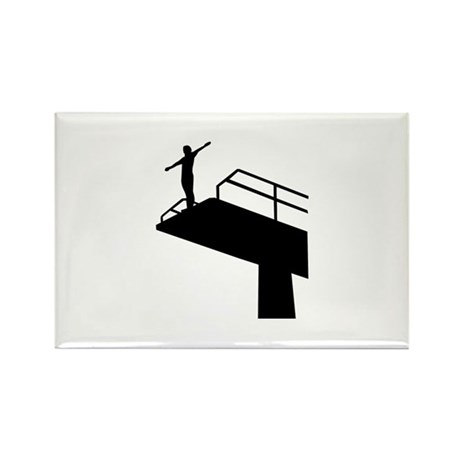 High diving Rectangle Magnet