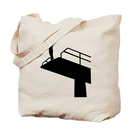 High diving Tote Bag