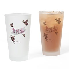 Bride Wedding Drinking Glass