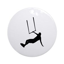 Kiteboarding Ornament (Round)