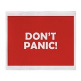 Hitchhiker 27s guide to the galaxy Fleece Blankets