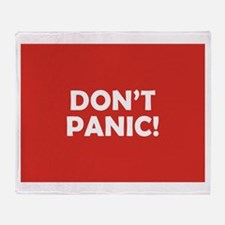 Don't Panic! Throw Blanket