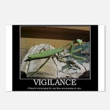 preying mantis Postcards (Package of 8)