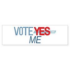 Vote for 8_bumpersticker Bumper Bumper Sticker