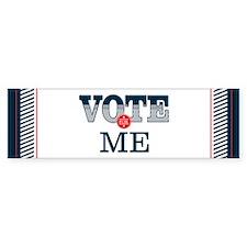 Vote for 10_bumpersticker Bumper Bumper Sticker