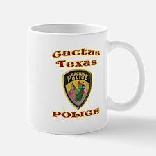 Cactus Police Mug