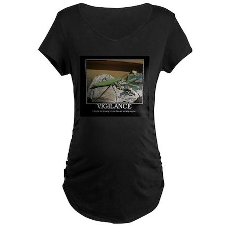 preying mantis Maternity Dark T-Shirt