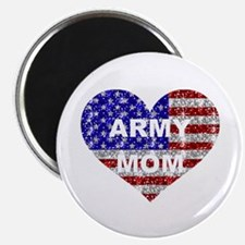 """ARMY MOM HEART 2.25"""" Magnet (100 pack)"""