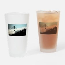 SF Bay Fog Creeps In The Gate Drinking Glass