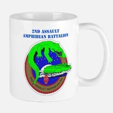 2nd Assault Amphibian Battalion with Text Mug