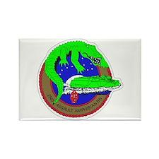 2nd Assault Amphibian Battalion Rectangle Magnet
