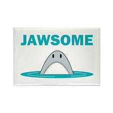 Jawsome Rectangle Magnet