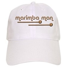 Marimba Man Baseball Cap