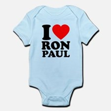 I Love Ron Paul Infant Bodysuit