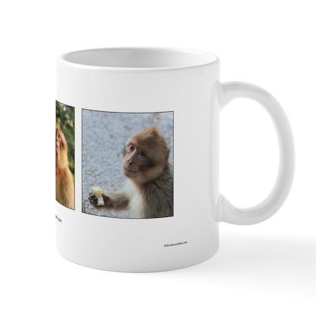 Wild Barbary Macaque - Mug