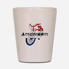 Amsterdam Bicycle Shot Glass
