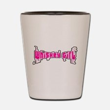WHISKEY GIRL (8 PNK) Shot Glass