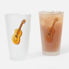 GUITAR (3) Drinking Glass