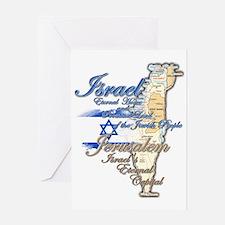 Israel, Jerusalem - Greeting Card