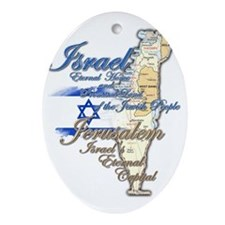 Israel, Jerusalem - Ornament (Oval)