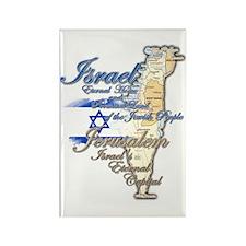 Israel, Jerusalem - Rectangle Magnet