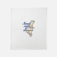 Israel, Jerusalem - Throw Blanket