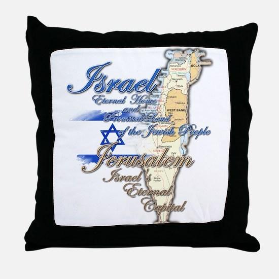 Israel, Jerusalem - Throw Pillow